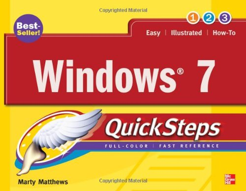 Windows 7 QuickSteps   2010 edition cover