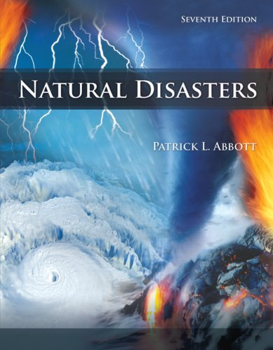 Natural Disasters  7th 2009 edition cover