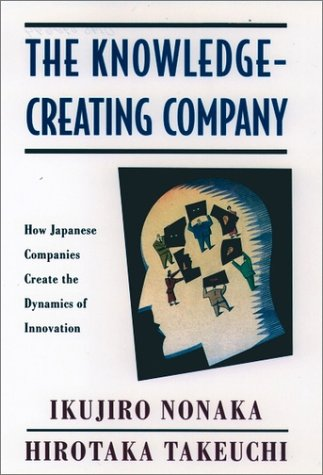 Knowledge-Creating Company How Japanese Companies Create the Dynamics of Innovation  1995 edition cover