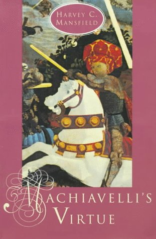 Machiavelli's Virtue   1998 edition cover
