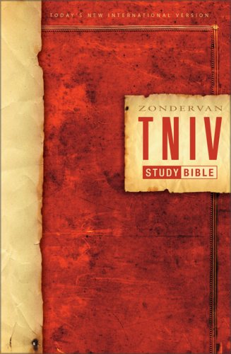 Tniv Study Bible  N/A edition cover