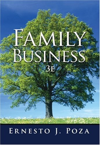 Family Business  3rd 2010 edition cover