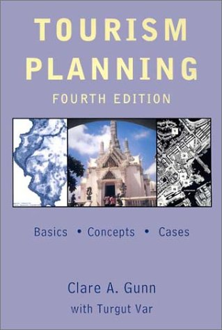 Tourism Planning Basics Concepts Cases 4th 2003 (Revised) edition cover