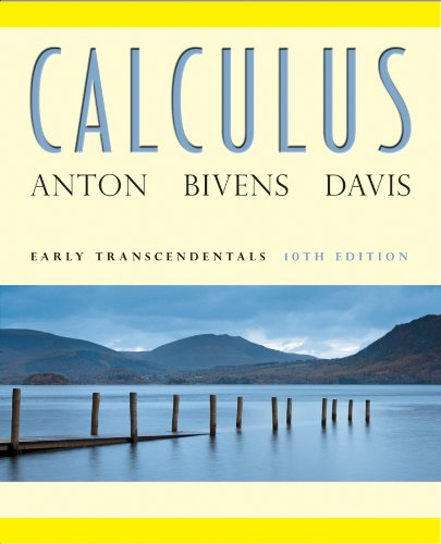 Calculus Early Transcendentals 10th 2012 edition cover
