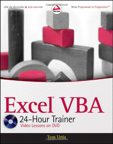 Excel VBA 24-Hour Trainer   2011 edition cover