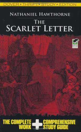 Scarlet Letter Thrift Study Edition   2009 edition cover