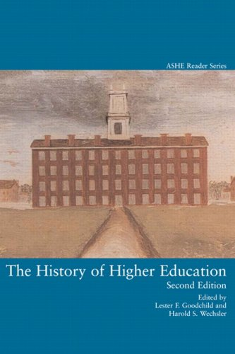 History of Higher Education  2nd 1997 (Revised) edition cover