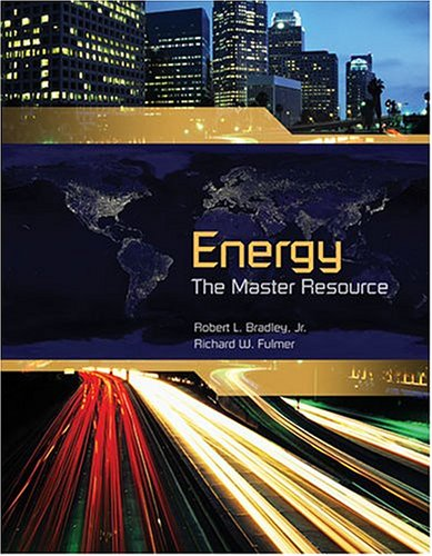 Energy The Master Resource  2004 (Revised) edition cover