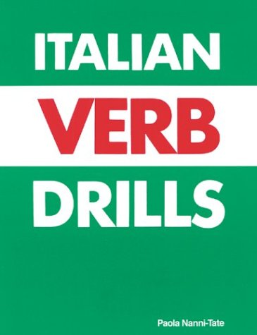 Italian Verb Drills 1st 1994 edition cover