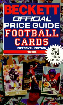 Official Price Guide to Football Cards 15th 9780876379691 Front Cover