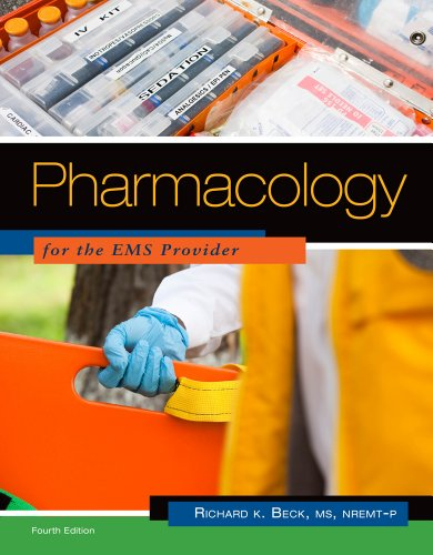 Pharmacology for the EMS Provider  4th 2012 edition cover