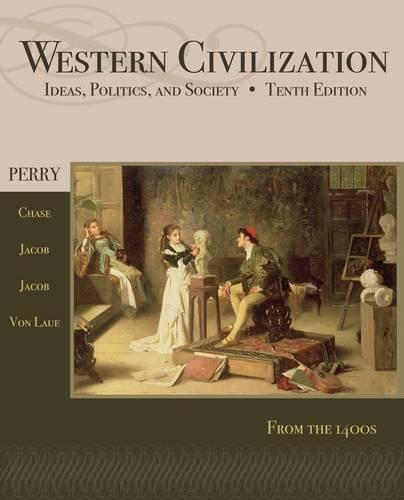 Western Civilization Since 1400 10th 2013 edition cover