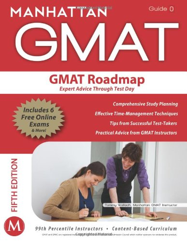 GMAT Roadmap Expert Advice Through Test Day 5th (Revised) edition cover