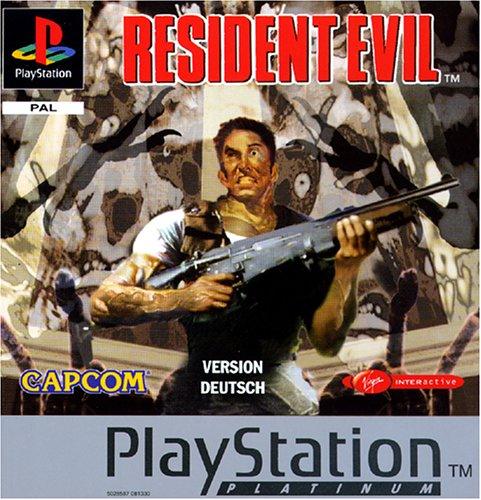 Resident Evil - Platinum PlayStation artwork