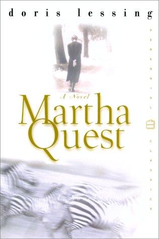 Martha Quest   2001 edition cover