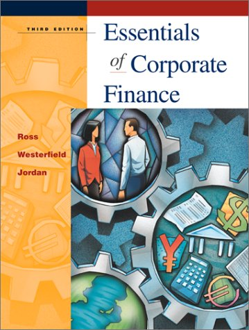 ESSEN.OF CORPORATE FINANCE-TEX 3rd 2001 edition cover