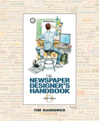 Newspaper Designer's Handbook  6th 2008 (Revised) edition cover