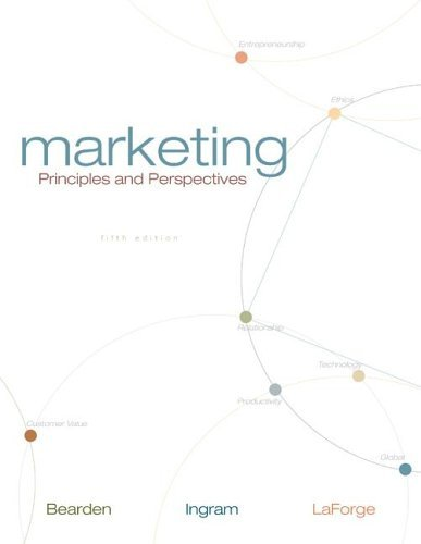 Marketing Principles and Perspectives 5th 2007 (Revised) edition cover