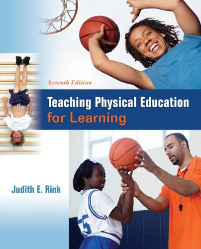 Teaching Physical Education for Learning:   2013 edition cover