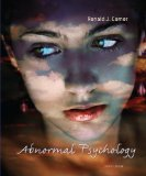 Abnormal Psychology Perspectives 5th 2013 9780132810692 Front Cover