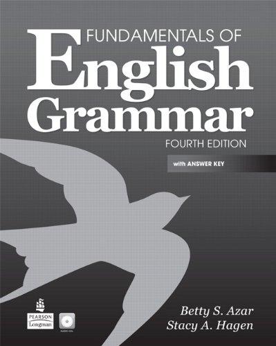 Fundamentals of English Grammar  4th 2011 9780137071692 Front Cover