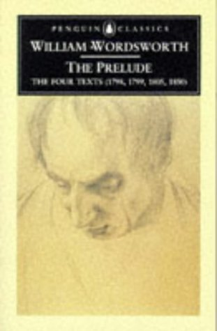 Prelude The Four Texts (1798, 1799, 1805, 1850)  2004 (Revised) edition cover