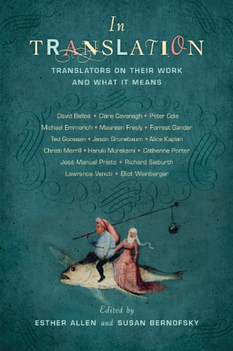 In Translation Translators on Their Work and What It Means  2013 edition cover