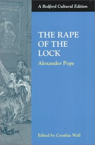 Rape of the Lock   1998 edition cover