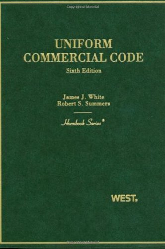 Uniform Commercial Code  6th 2010 (Revised) edition cover