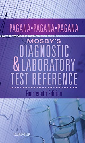 Mosby's Diagnostic and Laboratory Test Reference 14th 2018 9780323609692 Front Cover