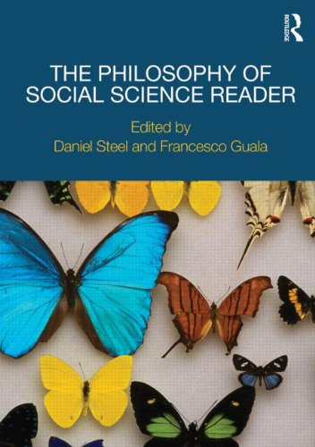 Philosophy of Social Science Reader   2011 edition cover