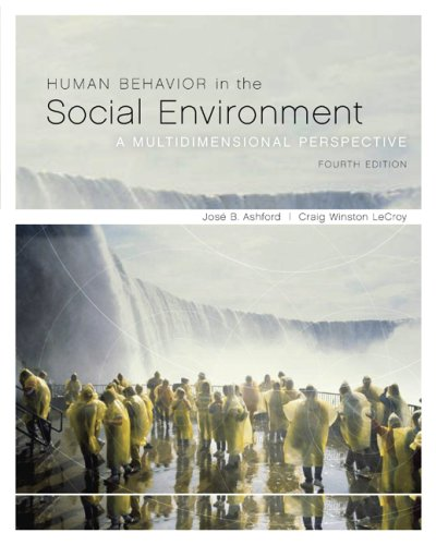 Human Behavior in the Social Environment A Multidimensional Perspective 4th 2010 edition cover