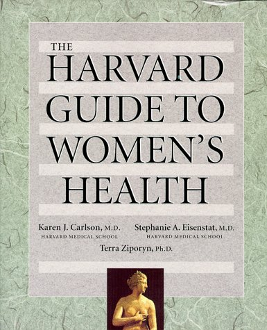 Harvard Guide to Women's Health   1996 edition cover