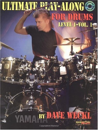 Ultimate Play-Along Drum Trax Dave Weckl   1993 edition cover