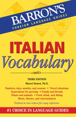 Italian Vocabulary  3rd 2012 (Revised) edition cover