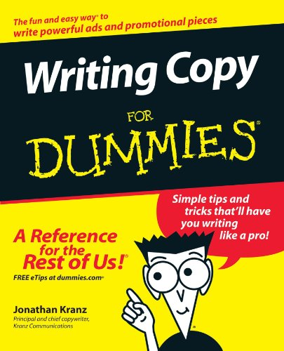 Writing Copy for Dummies   2005 edition cover