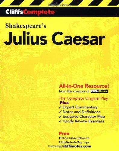 Julius Caesar  2nd 2000 edition cover