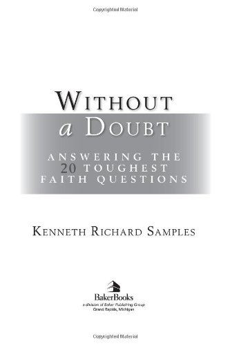 Without a Doubt Answering the 20 Toughest Faith Questions  2004 (Reprint) edition cover
