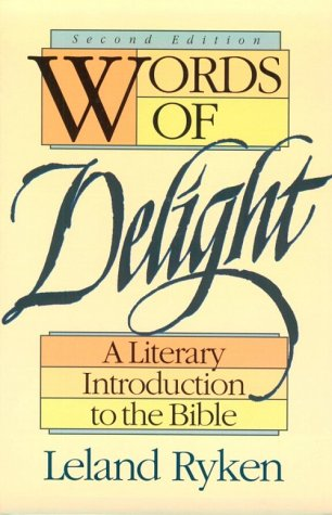 Words of Delight A Literary Introduction to the Bible 2nd edition cover