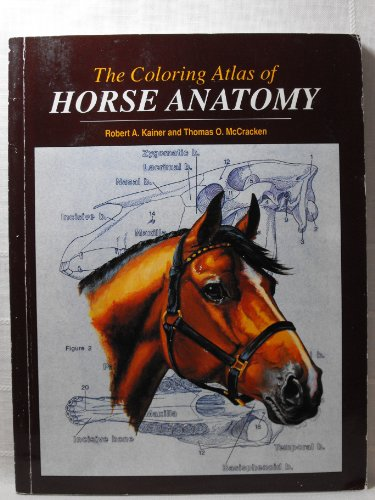 Coloring Atlas of Horse Anatomy 1st edition cover
