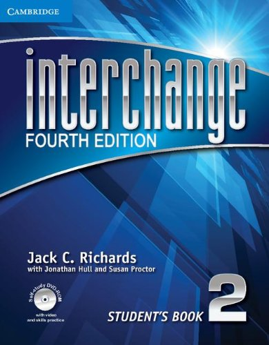 Interchange, Level 2  4th 2012 (Student Manual, Study Guide, etc.) edition cover