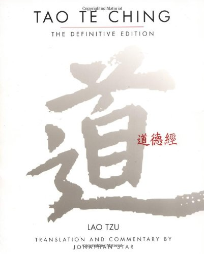 Tao Te Ching  Reprint  edition cover