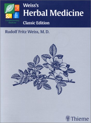 Weiss's Herbal Medicine   2001 9781588900692 Front Cover