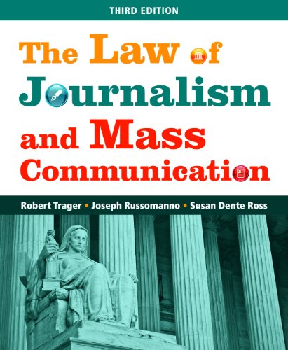 Law of Journalism and Mass Communication  3rd 2012 (Revised) edition cover