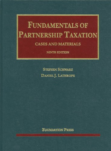 Fundamentals of Partnership Taxation  8th 2012 (Revised) edition cover