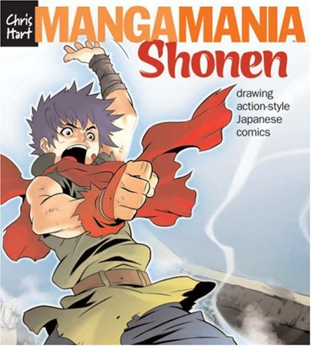 Shonen Drawing Action-Style Japanese Comics  2008 9781933027692 Front Cover