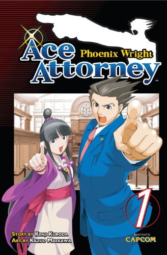 Phoenix Wright: Ace Attorney 1   2011 9781935429692 Front Cover