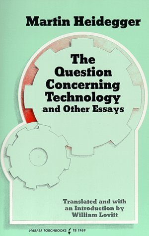 Question Concerning Technology And Other Essays  1977 edition cover
