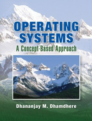 Operating Systems A Concept-Based Approach  2009 edition cover
