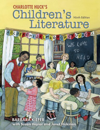 Charlotte Huck's Children's Literature with Online Learning Center Card 9th 2007 edition cover